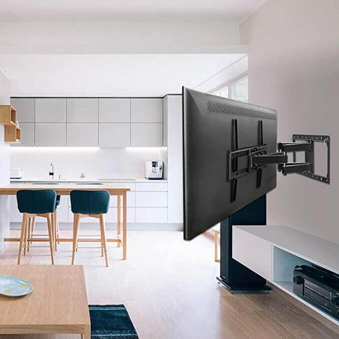Bracket for TV in the kitchen